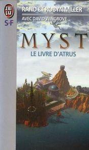 Couverture Le Livre d'Atrus - Myst, tome 1