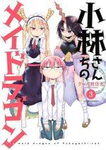 Couverture Miss Kobayashi's Dragon Maid - Tome 03