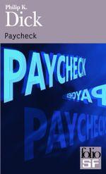 Couverture Paycheck