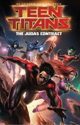 Affiche Teen Titans: The Judas Contract