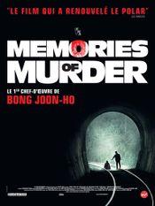 Affiche Memories of Murder