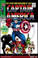 Couverture Captain America (1968 - 1996)