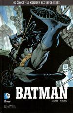 Couverture Batman : Silence (1ère partie) - DC Comics, Le Meilleur des Super-Héros, tome 1