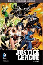 Couverture Justice League : Aux origines - DC Comics, Le Meilleur des Super-Héros, tome 4