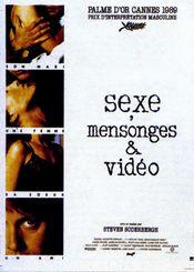 Affiche Sexe, Mensonges et Vidéo
