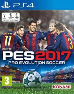 Jaquette Pro Evolution Soccer 2017