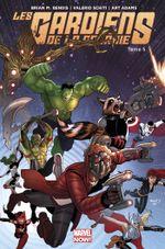 Couverture Les Gardiens rencontrent les Avengers - Les Gardiens de la Galaxie, tome 5