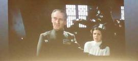 """Vidéo VIDEO : une scène inédite de Leia dans """"Star Wars : Un Nouvel Espoir"""" ressort d'outre-tombe"""