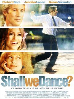 Affiche Shall We Dance ? La Nouvelle Vie de monsieur Clark