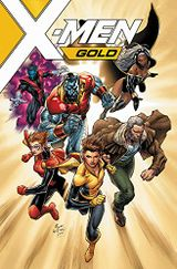 Couverture X-Men Gold (2017), tome 1