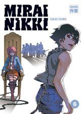 Couverture Mirai Nikki, Tome 6