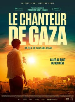 Affiche Le Chanteur de Gaza