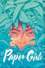 Couverture Paper Girls, tome 3