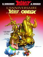 Couverture L'Anniversaire d'Astérix et Obélix : Le Livre d'or - Astérix, tome 34