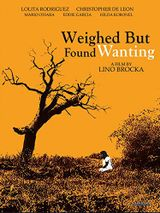Affiche Weighed But Found Wanting