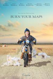 Affiche Burn Your Maps