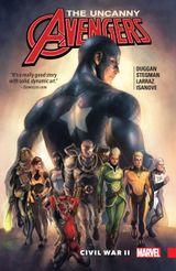 Couverture Uncanny Avengers (2015B), tome 3