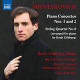 Pochette Piano Concertos nos. 1 and 2 / String Quartet no. 8