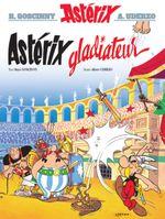 Couverture Astérix gladiateur - Astérix, tome 4