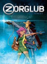 Couverture La Fille du Z - Zorglub, tome 1