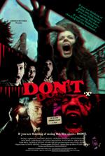 Affiche Don't (fausse bande-annonce)
