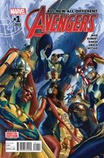 Couverture All-New, All-Different Avengers (2015 - 2016)
