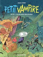 Couverture Le Serment des pirates - Petit vampire (Rue de Sèvres), tome 1