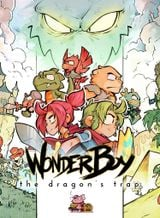 Jaquette Wonder Boy : The Dragon's Trap