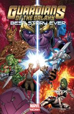 Couverture Guardians Of Galaxy: Best Story Ever