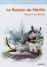 Couverture Le roman de Merlin