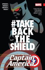 Couverture #TakeBackTheShield - Captain America : Sam Wilson (2015), tome 4