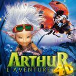 Affiche Arthur : L'Aventure 4D