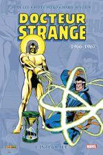Couverture 1966-1967 - Docteur Strange : L'Intégrale, tome 2