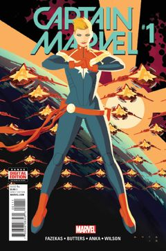 Couverture Captain Marvel (2016 - 2017)