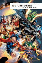 Couverture DC Univers Rebirth