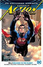 Couverture Welcome to the Planet - Superman : Action Comics (Rebirth), tome 2
