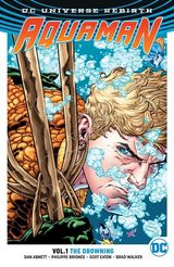 Couverture The Drowning - Aquaman (Rebirth) Vol. 1