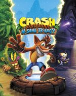 Jaquette Crash Bandicoot N. Sane Trilogy