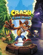 Jaquette Crash Bandicoot N. Sane Trilogy