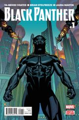 Couverture Black Panther (2016 - Present)