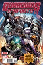 Couverture Guardians of Infinity (2016)