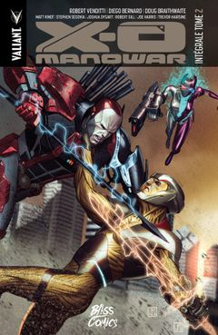 Couverture X-O Manowar, Intégrale tome 2