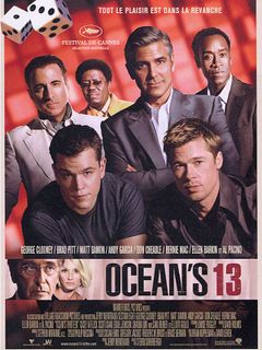 Affiche Ocean's 13