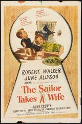 Affiche The sailor takes a wife