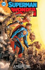 Couverture A Savage End - Superman/Wonder Woman Vol. 5