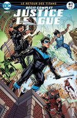 Couverture Le Retour des Titans - Récit Complet Justice League, tome 1