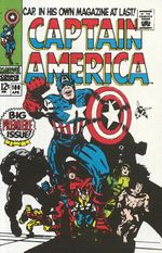 Couverture Captain America (1968-2011)