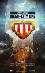 Affiche Judge Dredd: Mega-City One