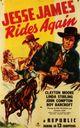 Affiche Jesse James Rides Again