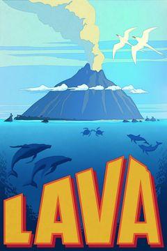 Affiche Lava